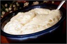 turnips and mashed potatoes