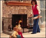 fireplace protection safety