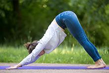 back stretching exercise